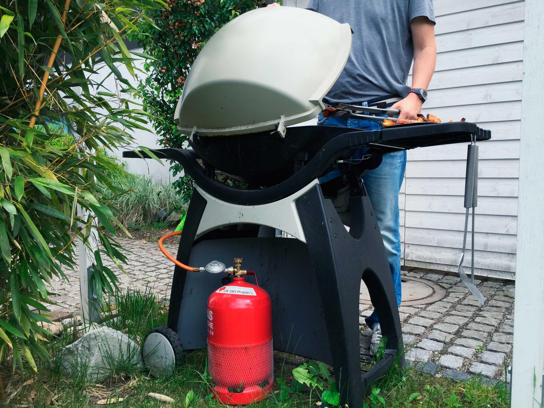 Gas Für Gasgrill : Grillen mit gas: vorsicht flammen