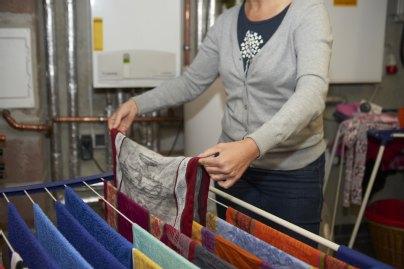 Wäsche trocknen im Heizungskeller: schlecht für die Anlage ...
